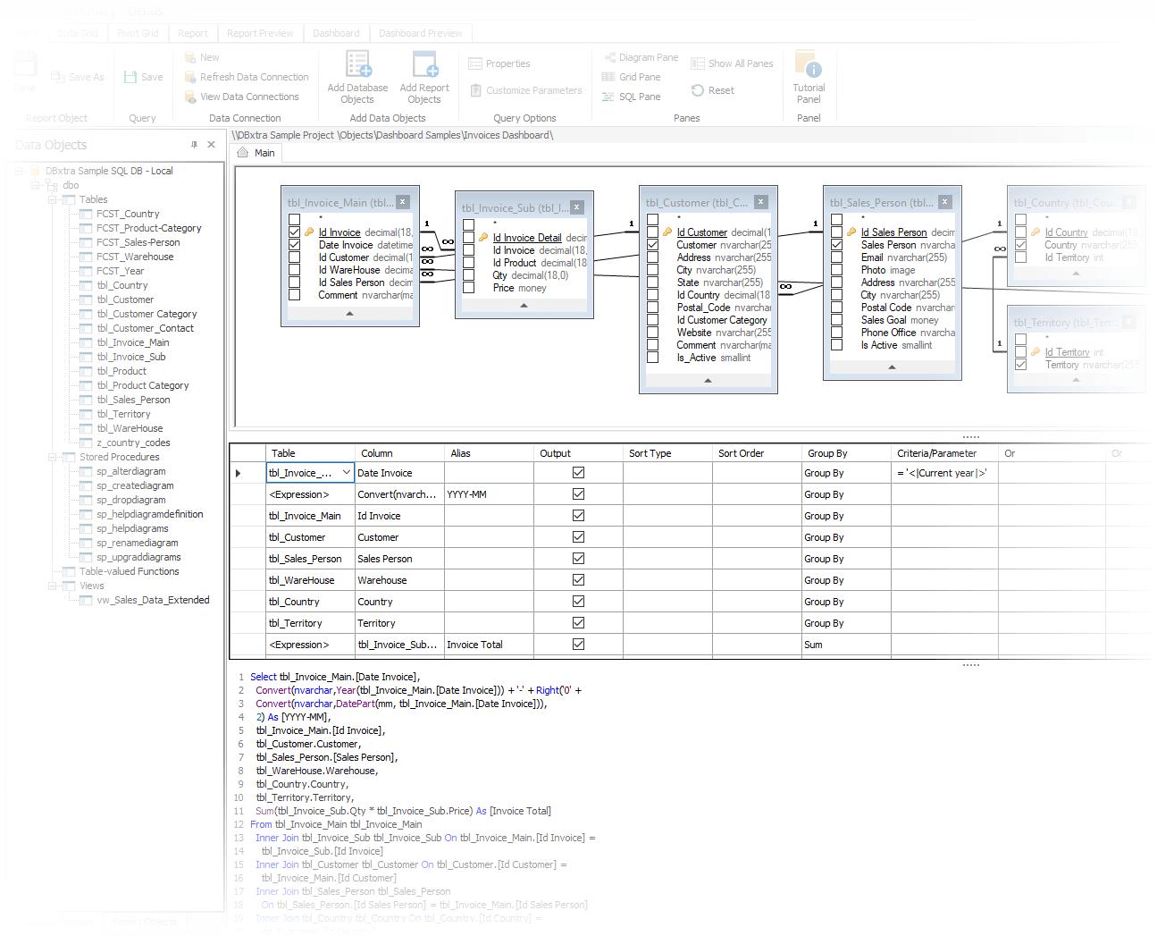 Visual Query Builder