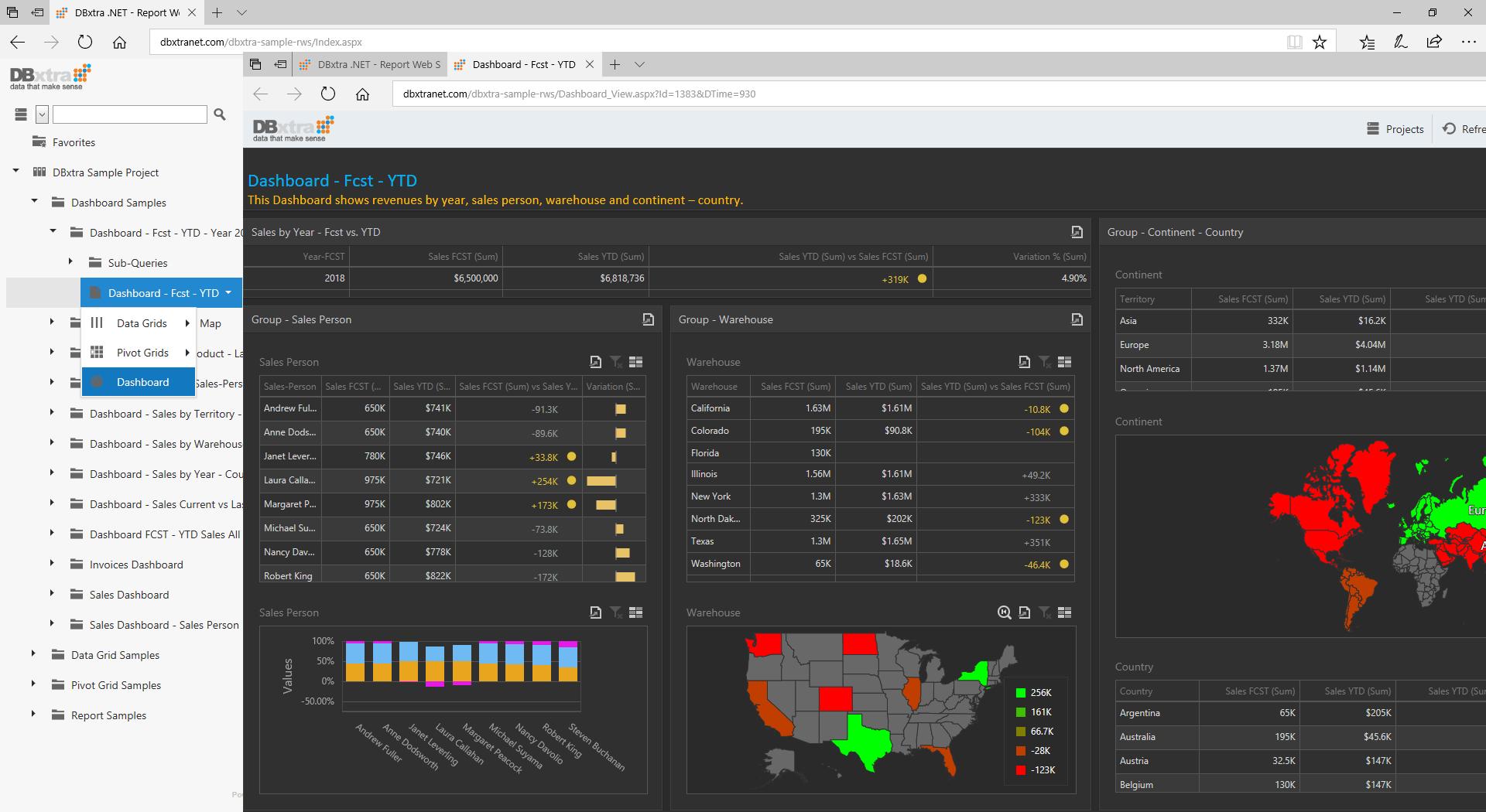 Report Web Service Login