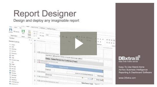 Report Designer Video
